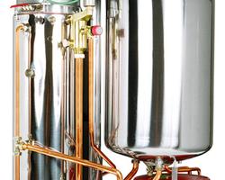 Chaudière Frisquet Hydroconfort condensation Visio 20kW ECS ballon intégré de 80L - A4AJ20020 - A4AJ20020