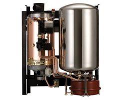 Chaudière Frisquet Hydroconfort Evolution Visio 25kW ECS balon intégré de 80L, sortie cheminée - B4AJ25020 - B4AJ25020