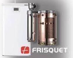 Chaudière Frisquet Prestige à condensation Visio 32KW mixte à semi-accumulation au sol - A4AL32020 - A4AL32020