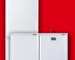 Chaudière Frisquet Prestige à condensation Visio 32KW avec upec120L - A4AL32050+F3AA41067 vertical au sol - A4AL32050+F3AA41067