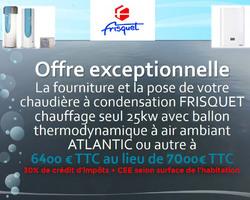 MBP - Vigneux-sur-Seine - Promotions - Nos offres promotionnelles sur les chaudières Frisquet